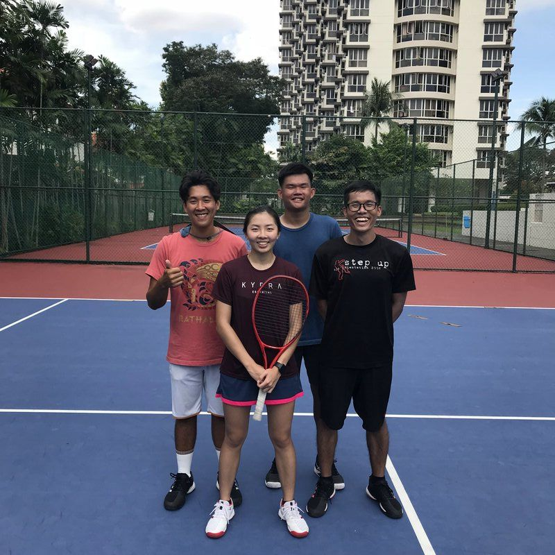 group tennis lesson singapore
